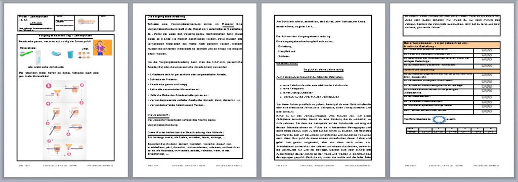 vorgangsbeschreibung klasse 7 beispiel essay